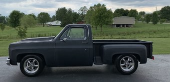 SOLD! 1973 Chevy Short Bed Truck!