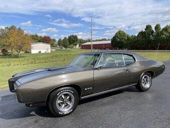 1969 Pontiac GTO Vin # 242