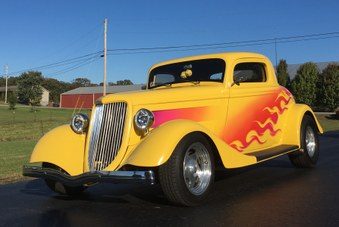 Sold 1934 Ford Street Rod!