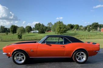 SOLD! 1968 Camaro!  427/435 HP Engine!