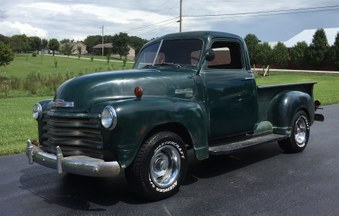 SOLD! 51 Chevy 3100 Series Truck!