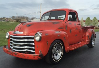Sorry SOLD! 1953 Chevy PK! 6 Cyl Eng.