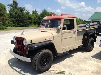 SOLD!  1953 Willy 4x4 Truck! SOLD!