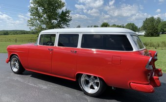 SOLD! Ready to go! 1955 Chevy Wagon!