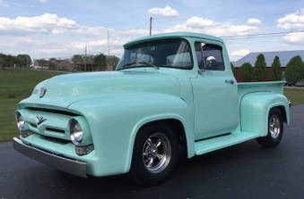 SOLD!  1956 Ford F100 Short Bed PK!