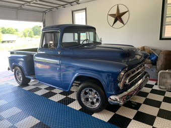 Sorry SOLD! 1957 Chevy! Big Back Glass!