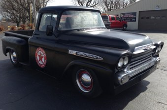 Sold! 1959 Chevy Apache! Big Window!