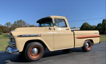 SOLD! 1959 Chevy Apache Short Bed!