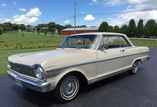 SOLD!  1965 Chevy Nova II , 6 Cyl, Auto!