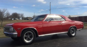 Sorry Sold! 1966 Chevelle SS!