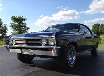 SOLD! Older Frame off restored Chevelle