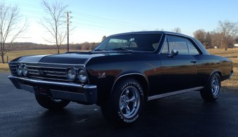 Sold..67 Chevelle! Factory A/C! 383 Eng!