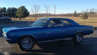 Sold....1967 Chevelle SS 396 Clone!