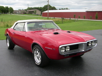 SOLD! 67 Pontiac Firebird Convertible!