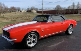 SOLD!  Nice 1967 Camaro RS Convertible!