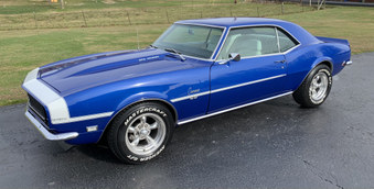 SOLD! Awesome 68 Camaro! PS, PDB, A/C!