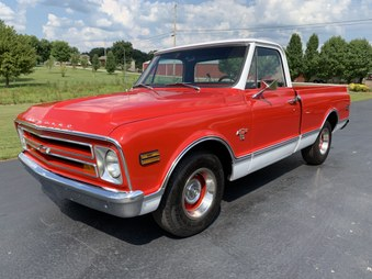 Sold... 1968 Chevy Short Bed! Red/White!