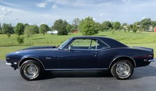 Sorry SOLD!  1968 Camaro! Blue on Blue!