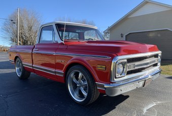 SOLD! Nice 1969 Chevy C-10! 350/Auto!