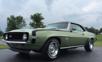 SOLD!  1969 Camaro X55 Car! Real SS!
