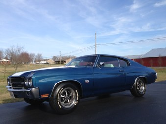 SOLD!   1970 Chevelle SS 454! 4 Spd!