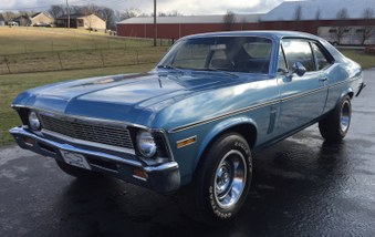 SOLD! 1970 Chevy Nova! 6 Cyl Eng, Auto!
