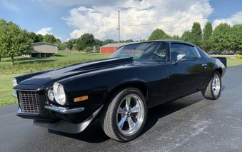 Sold 1971 Camaro RS Split Bumper Car!