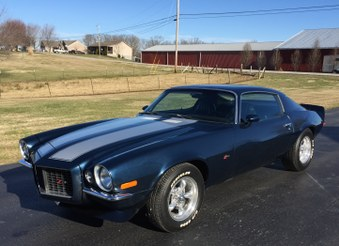 Sold! 1971 Chevy Camaro RS Z28 Clone!
