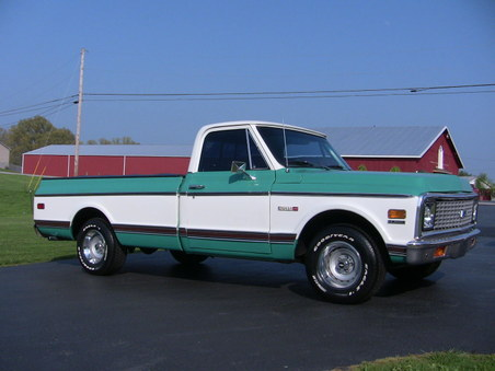 Sold! 1972 Chevy Cheyenne Super!