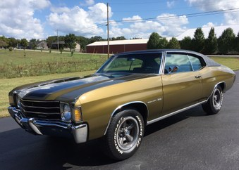 SOLD! 1972 Chevelle! 350 Eng, Auto!