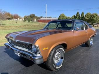 Sold! 72 Chevy Nova! 350 Eng, Auto! A/C!