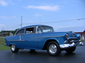 Sold. 1955 Chevy Belair! Nice Cruiser..