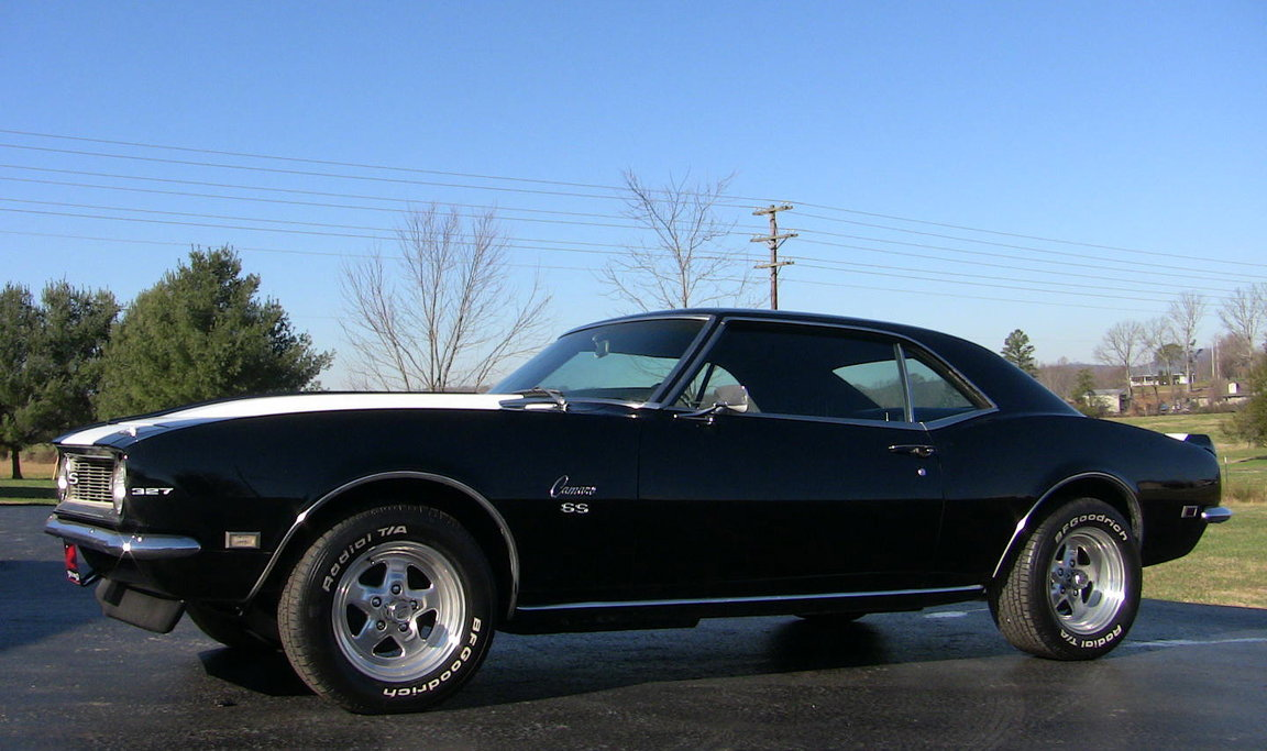 1968 Chevy RS Camaro, numbers matching 4spd 327 for sale: photos ...