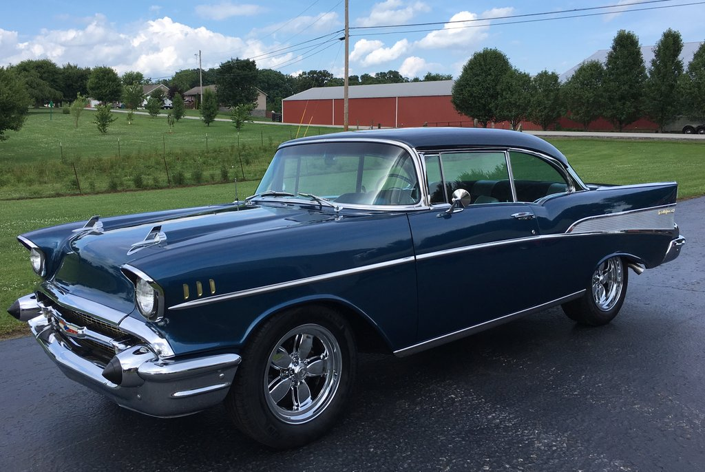 Photo 1 Of 45, Sorry SOLD! Nice Old 57 Chevy