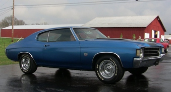 SOLD! 72 Chevelle SS Clone! 350 Eng!