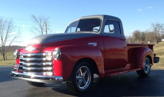 SOLD!  51 Chevy 3100 Series PK!
