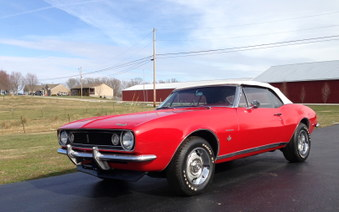 SOLD! 67 Camaro! ME Code Engine!