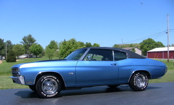 SOLD SOLD! 1970 Chevelle SS 396 Clone!