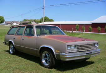 SOLD!  1983 Chevy Malibu Wagon!