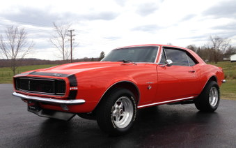 Sold ..1967 Camaro RS! Frame OFF!!