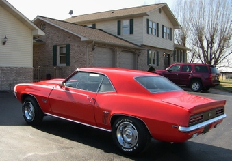 SOLD! 1969 Camaro RS SS 396 Clone!