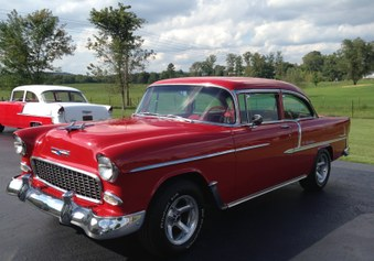 SOLD!   1955 Chevy Belair! 350 / 4 Spd!