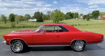 SOLD! 1966 Chevelle SS 396! Vin 138..