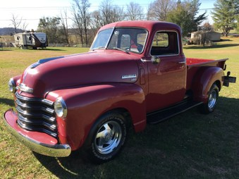 SOLD!  1950 Chevy Truck!