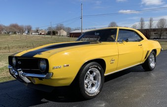 Sold! 1969 Camaro Frame off 350 Eng,