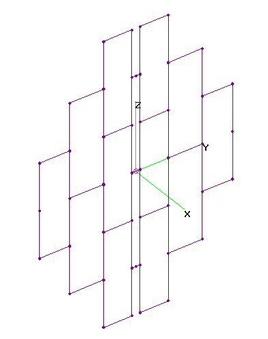 UHF 21El Curtain Array - NO Refl