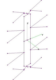 UHF Free-Form 4-Bay Bowtie - NO Refl