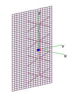 M4 (9.5x9.0) + 40x34 FLAT Refl at 5-in