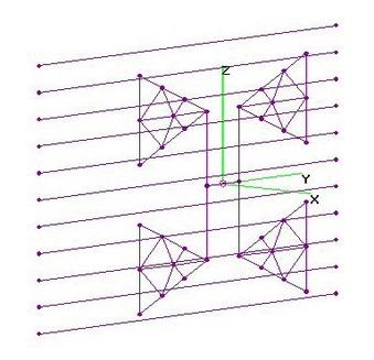 UHF 2-Bay SOLID Triangles - Var RR's