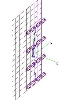 UHF 4-Bay Fat Dipoles + Grid Reflector